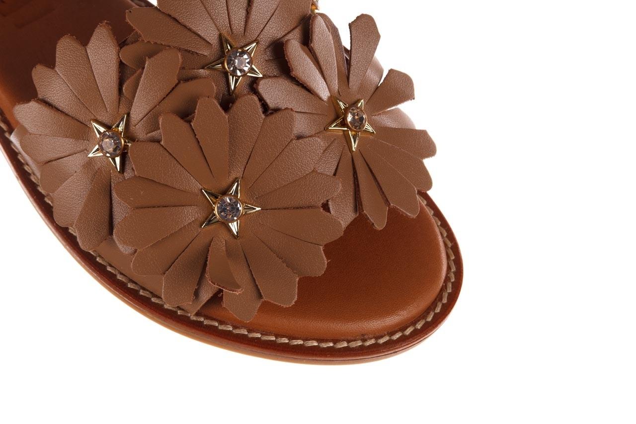 Sandały bayla-190 285 631 530, brąz, skóra naturalna  - płaskie - sandały - buty damskie - kobieta 13