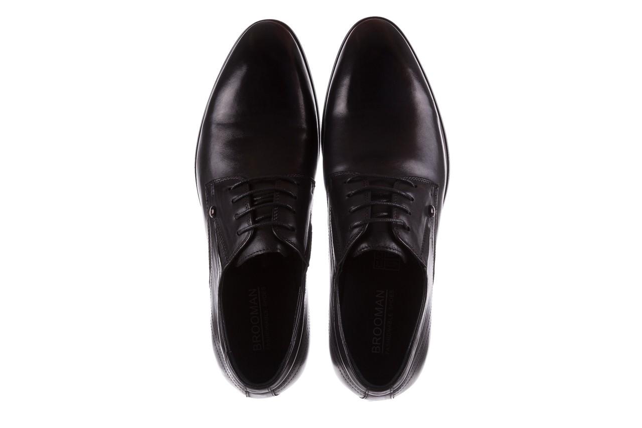Półbuty brooman b-545 black, czarny, skóra naturalna - bayla exclusive - trendy - mężczyzna 11