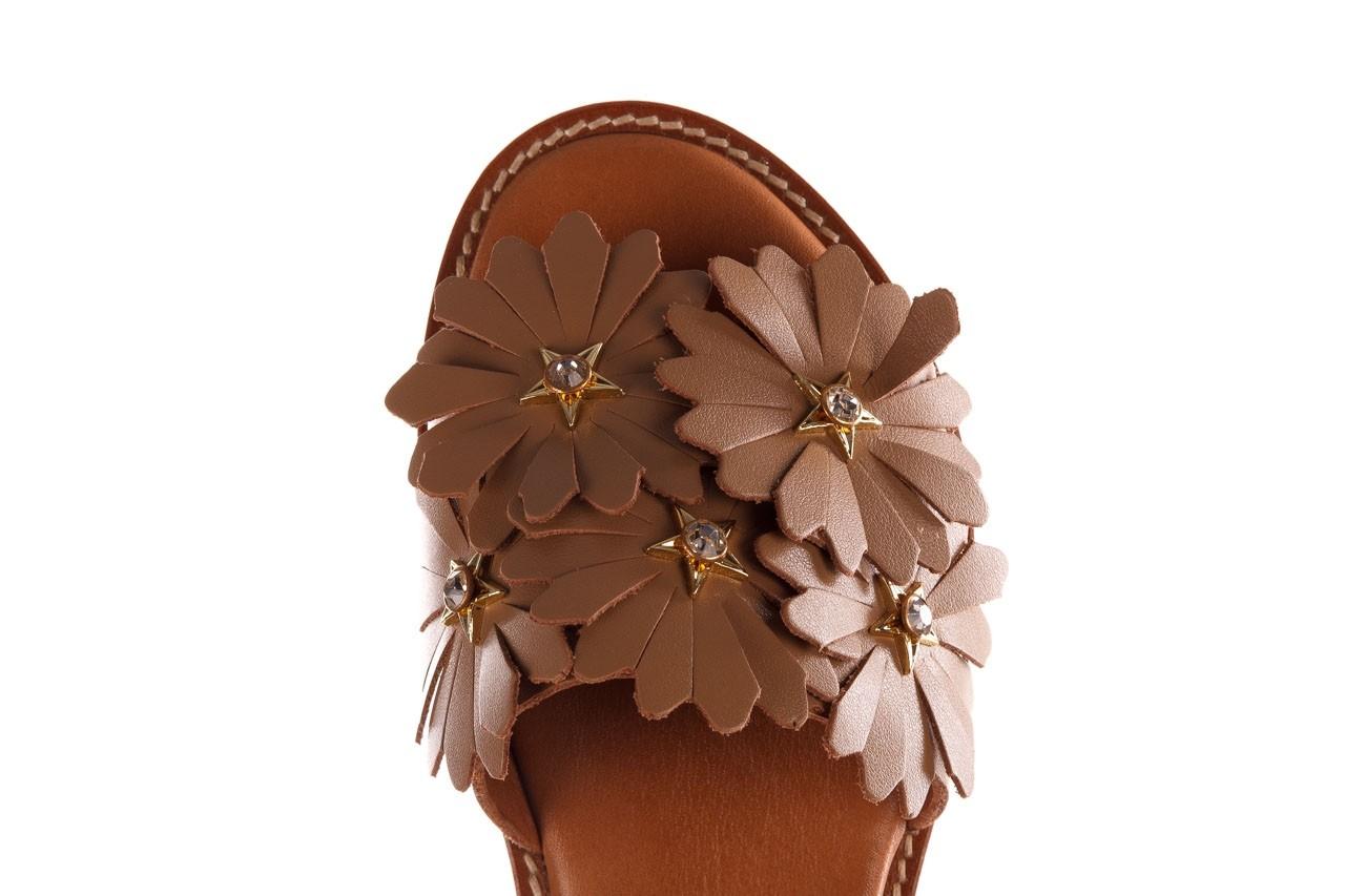 Sandały bayla-190 285 631 530, brąz, skóra naturalna  - płaskie - sandały - buty damskie - kobieta 14