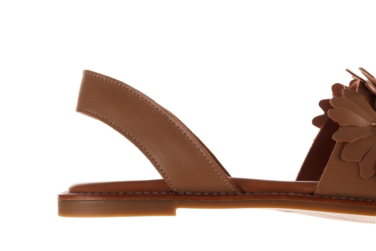 Sandały bayla-190 285 631 530, brąz, skóra naturalna  - płaskie - sandały - buty damskie - kobieta 15