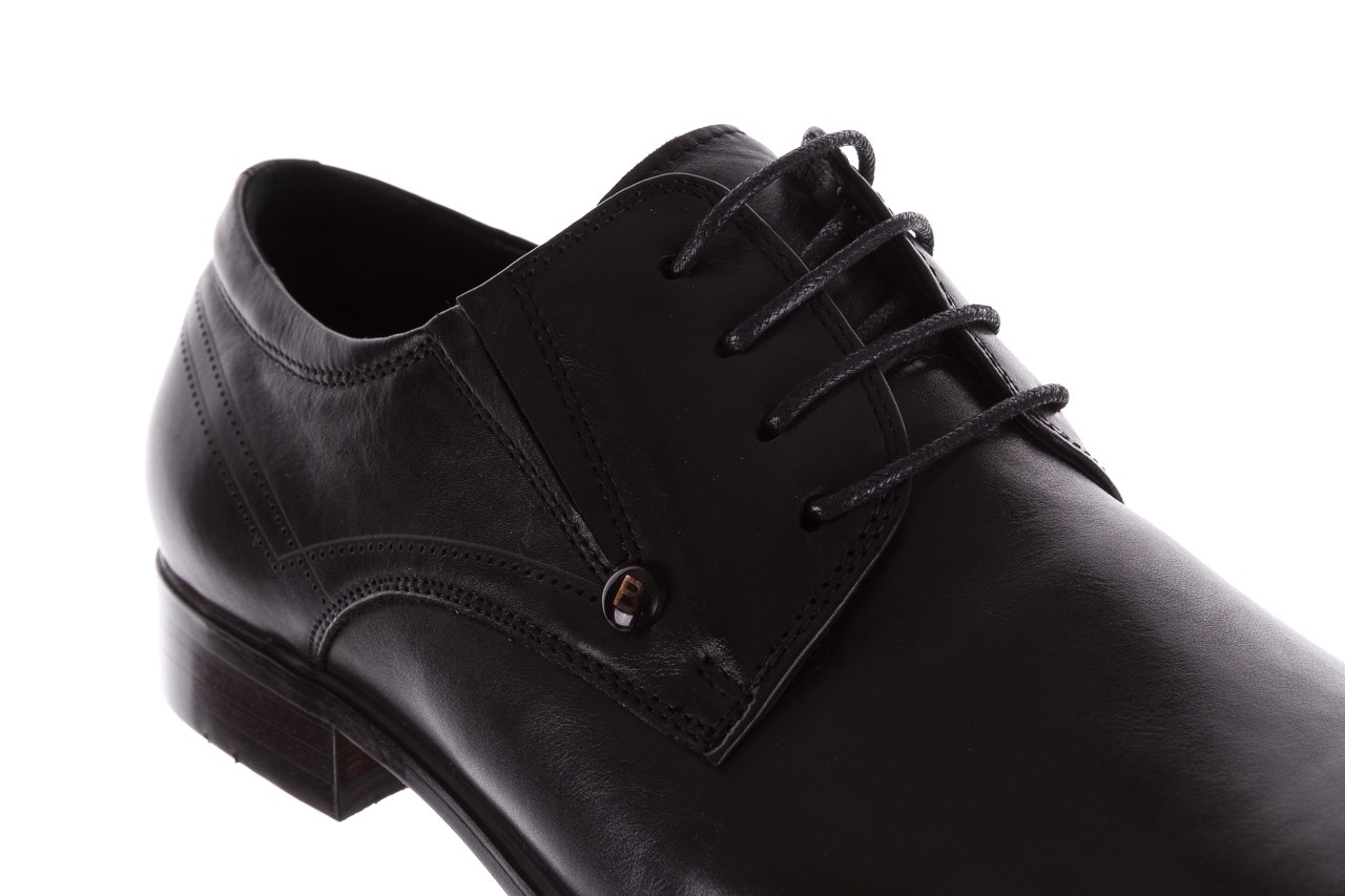 Półbuty brooman b-545 black, czarny, skóra naturalna - bayla exclusive - trendy - mężczyzna 12
