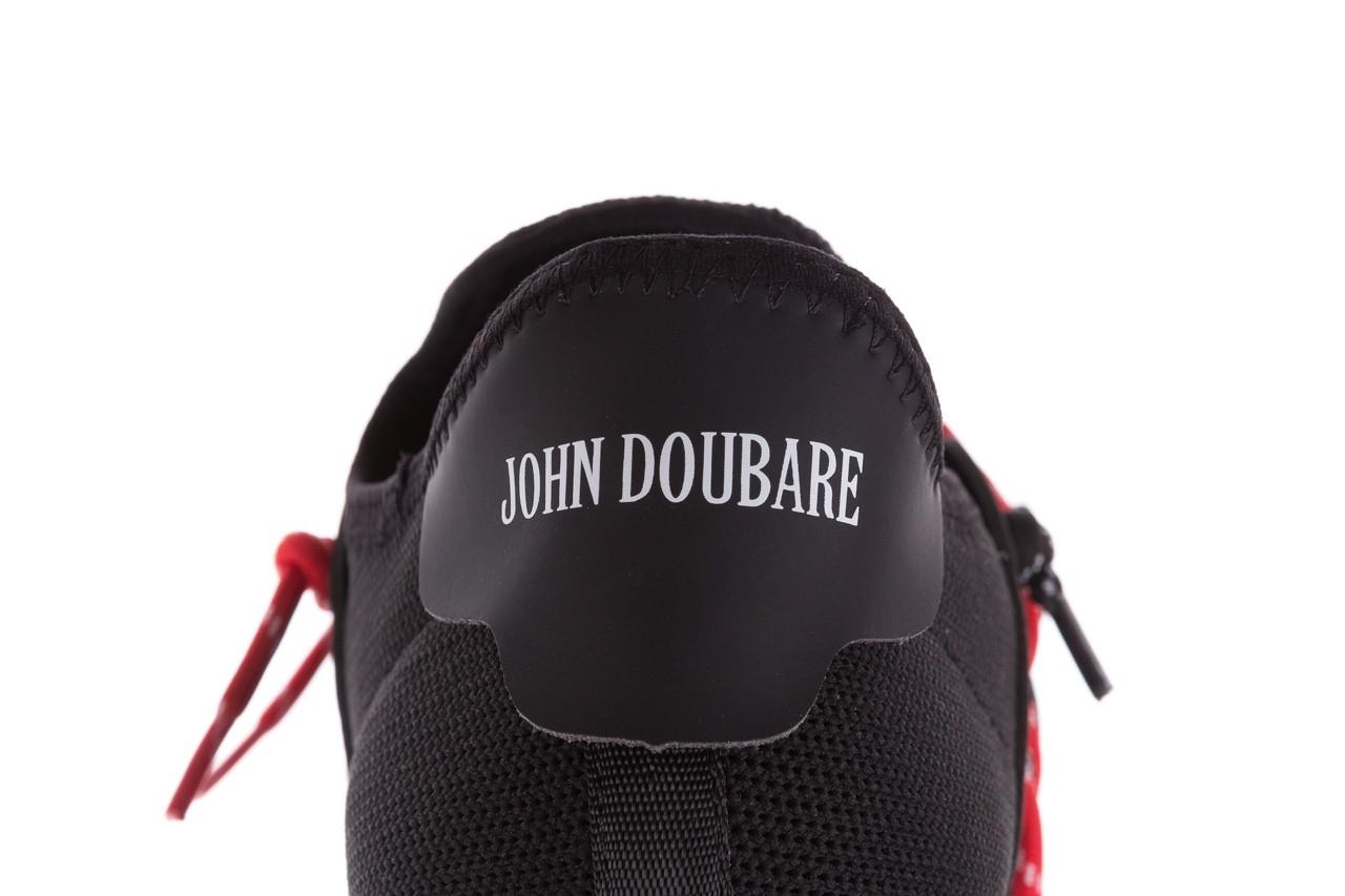 Trampki john doubare m17816-1 black, czarny, materiał  - bayla exclusive - trendy - mężczyzna 16