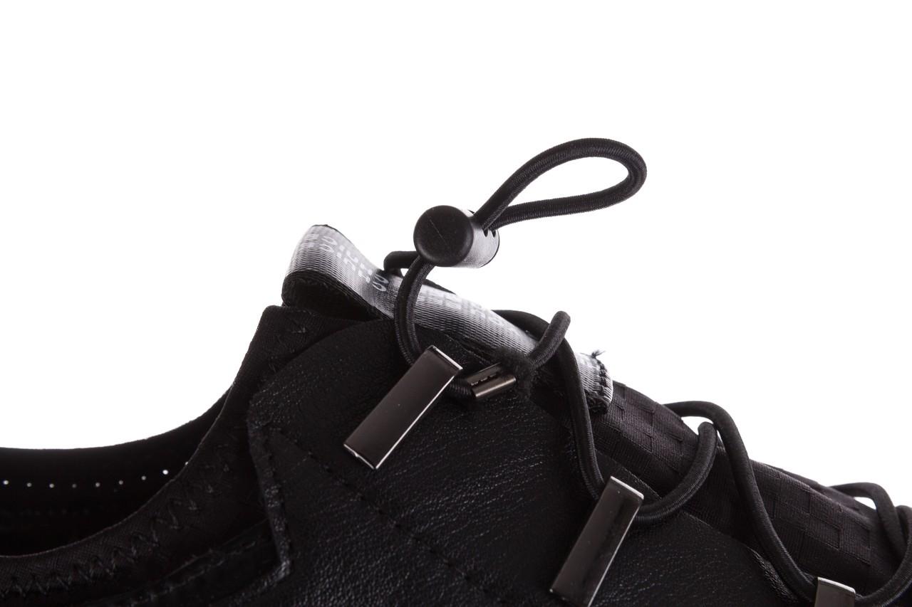 Trampki john doubare s8016-xt6820-1 black, czarny , skóra naturalna - brooman - nasze marki 16
