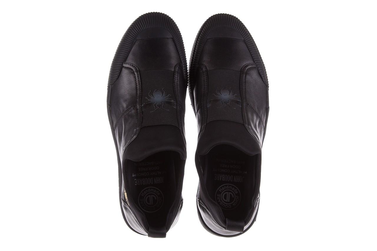 Trampki john doubare s8016-f37517-1 black, czarny, skóra naturalna - bayla exclusive - trendy - mężczyzna 12