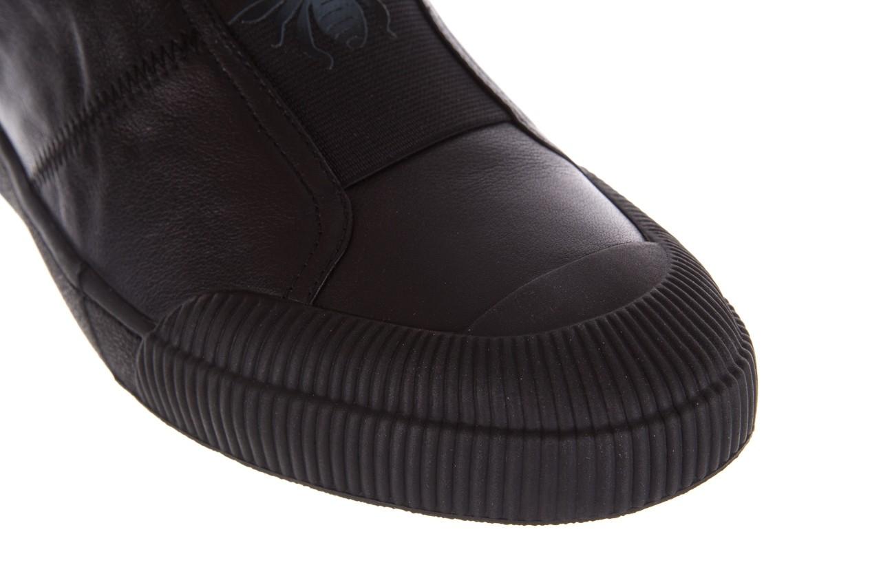 Trampki john doubare s8016-f37517-1 black, czarny, skóra naturalna - brooman - nasze marki 13