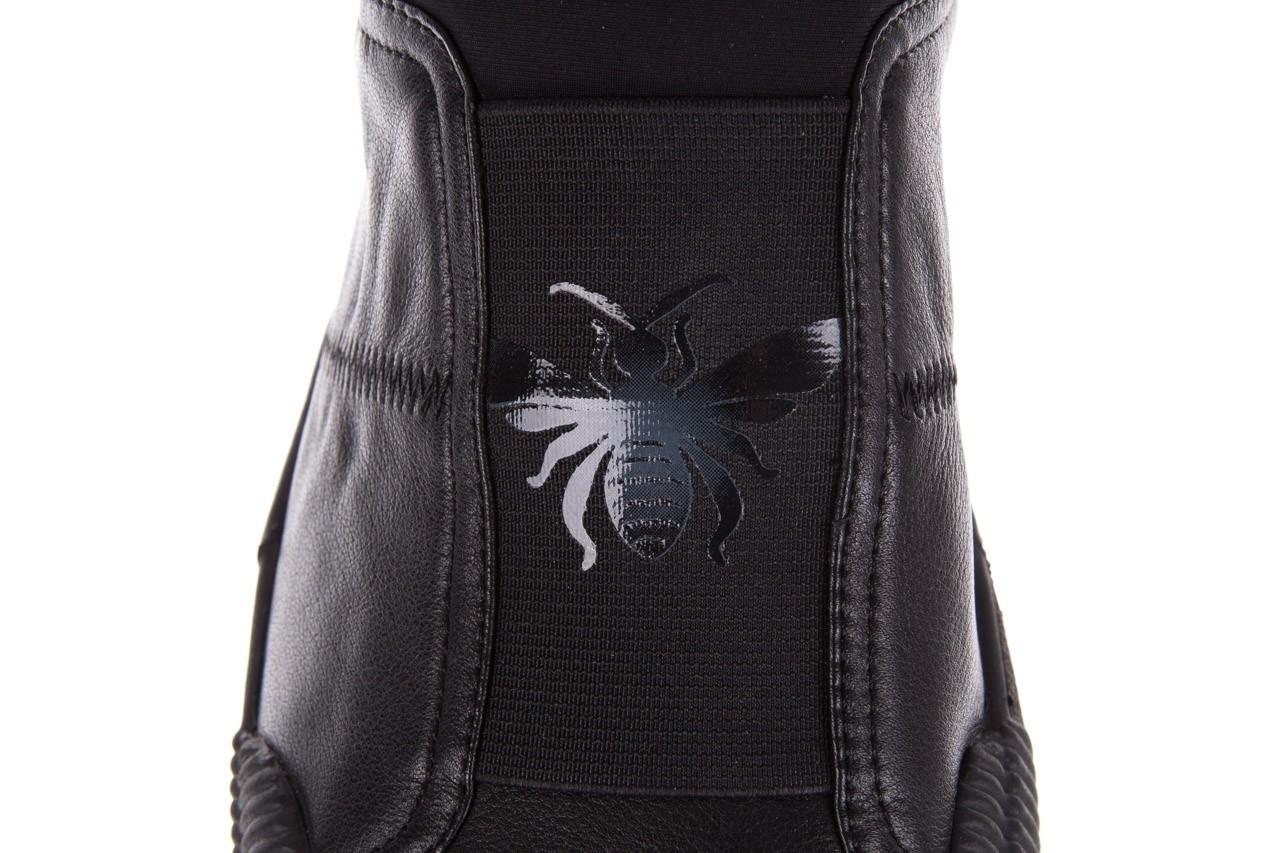 Trampki john doubare s8016-f37517-1 black, czarny, skóra naturalna - bayla exclusive - trendy - mężczyzna 14