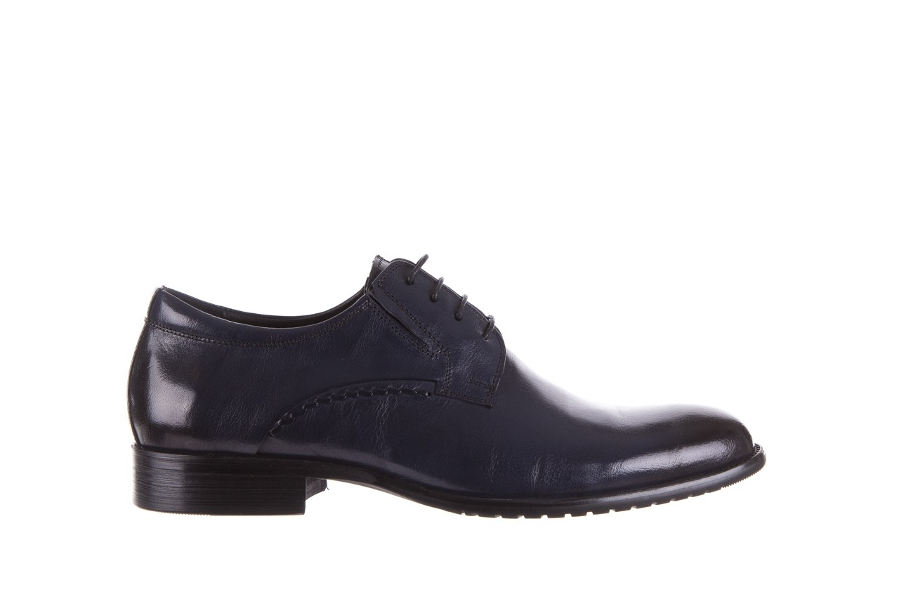 Półbuty brooman a218-101-a187 blue, granat, skóra naturalna  - bayla exclusive - trendy - mężczyzna 6