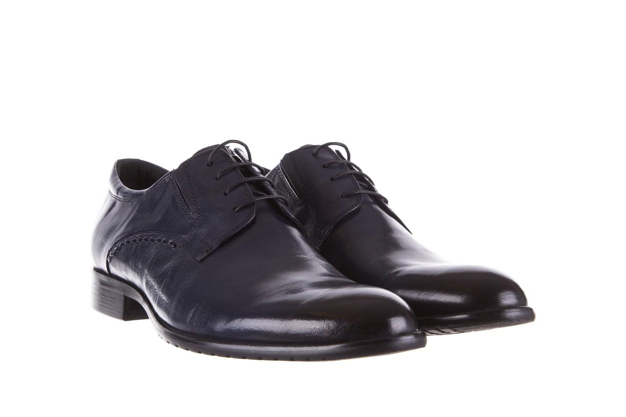 Półbuty brooman a218-101-a187 blue, granat, skóra naturalna  - bayla exclusive - trendy - mężczyzna 7
