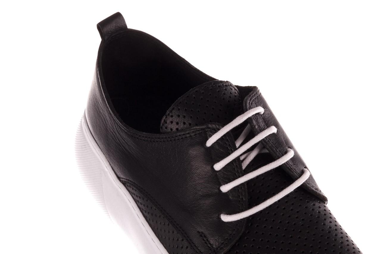 Trampki bayla-190 102 12502 black siyah, czarny, skóra naturalna  - kobieta 13