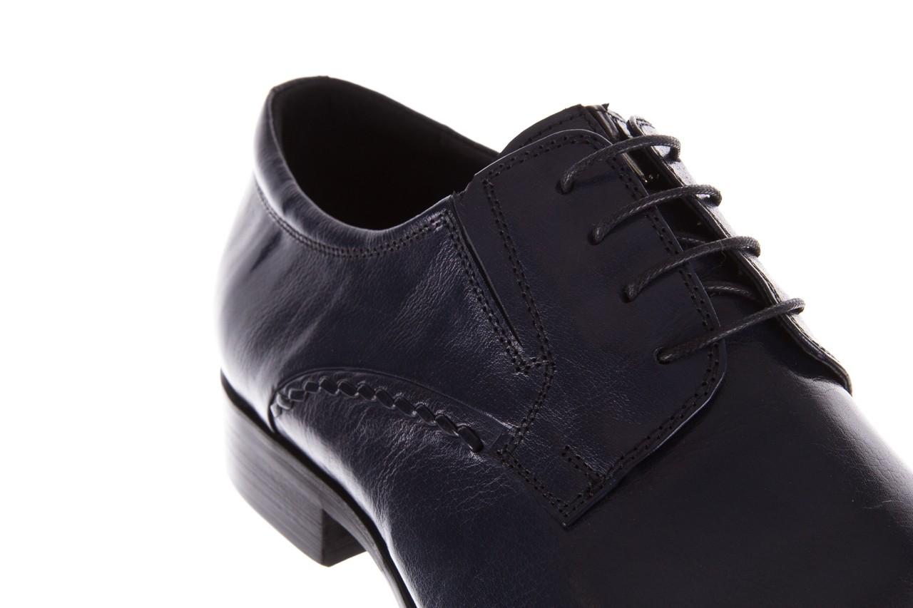 Półbuty brooman a218-101-a187 blue, granat, skóra naturalna  - bayla exclusive - trendy - mężczyzna 11