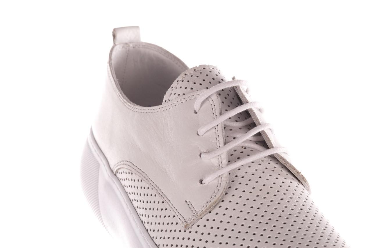 Trampki bayla-190 102 12502 white beyaz, biały, skóra naturalna  - kobieta 13