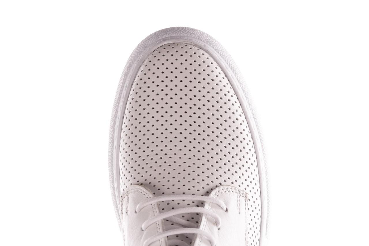 Trampki bayla-190 102 12502 white beyaz, biały, skóra naturalna  - sale 14