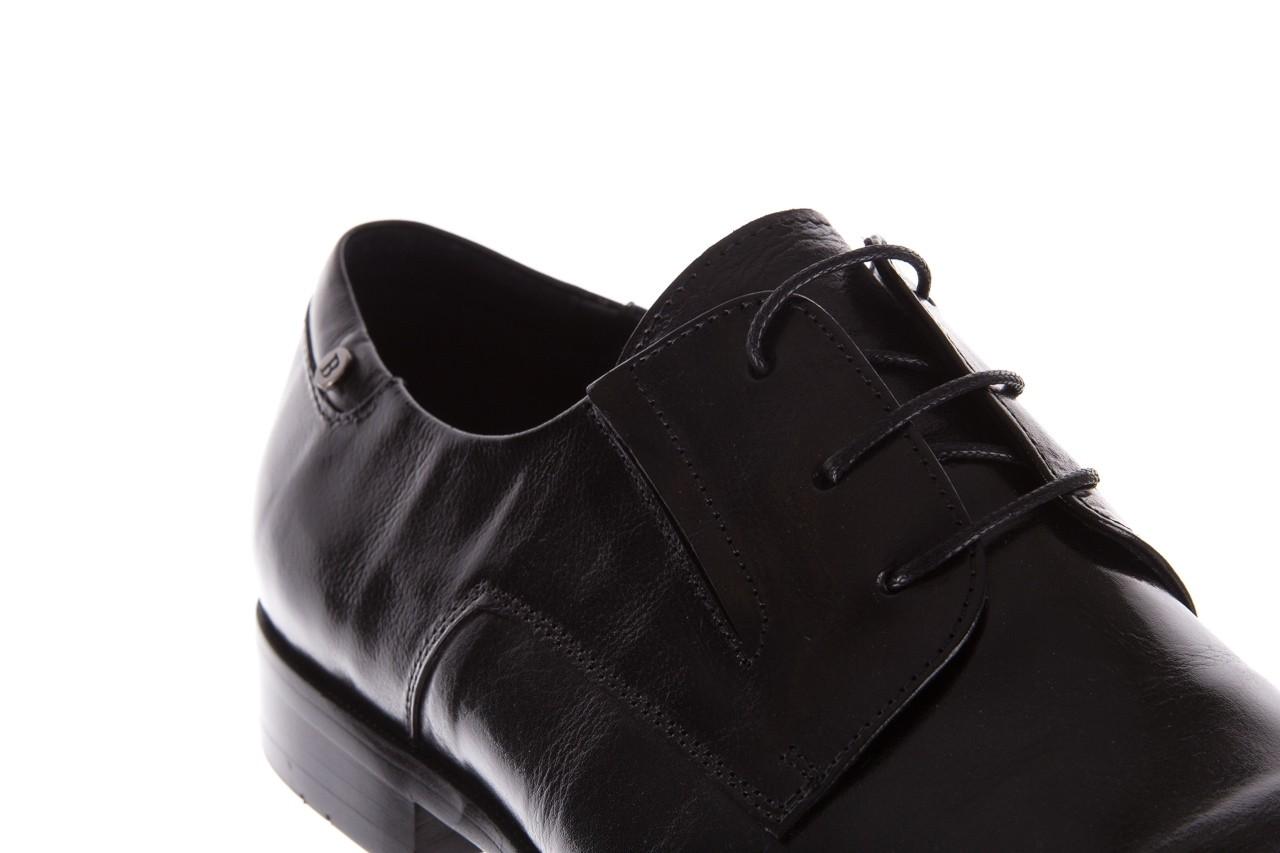 Półbuty brooman 53205a black, czarny, skóra naturalna  - mężczyzna 12