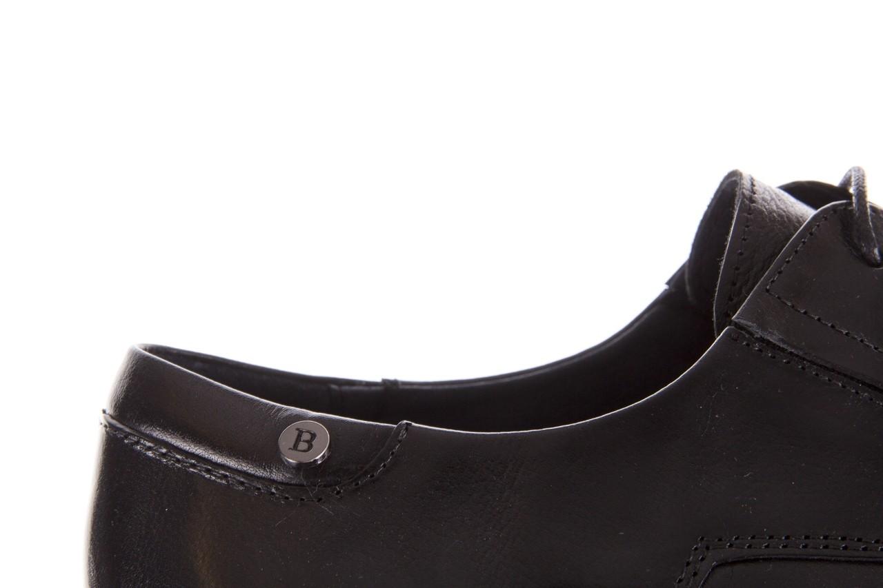 Półbuty brooman 53205a black, czarny, skóra naturalna  - mężczyzna 13