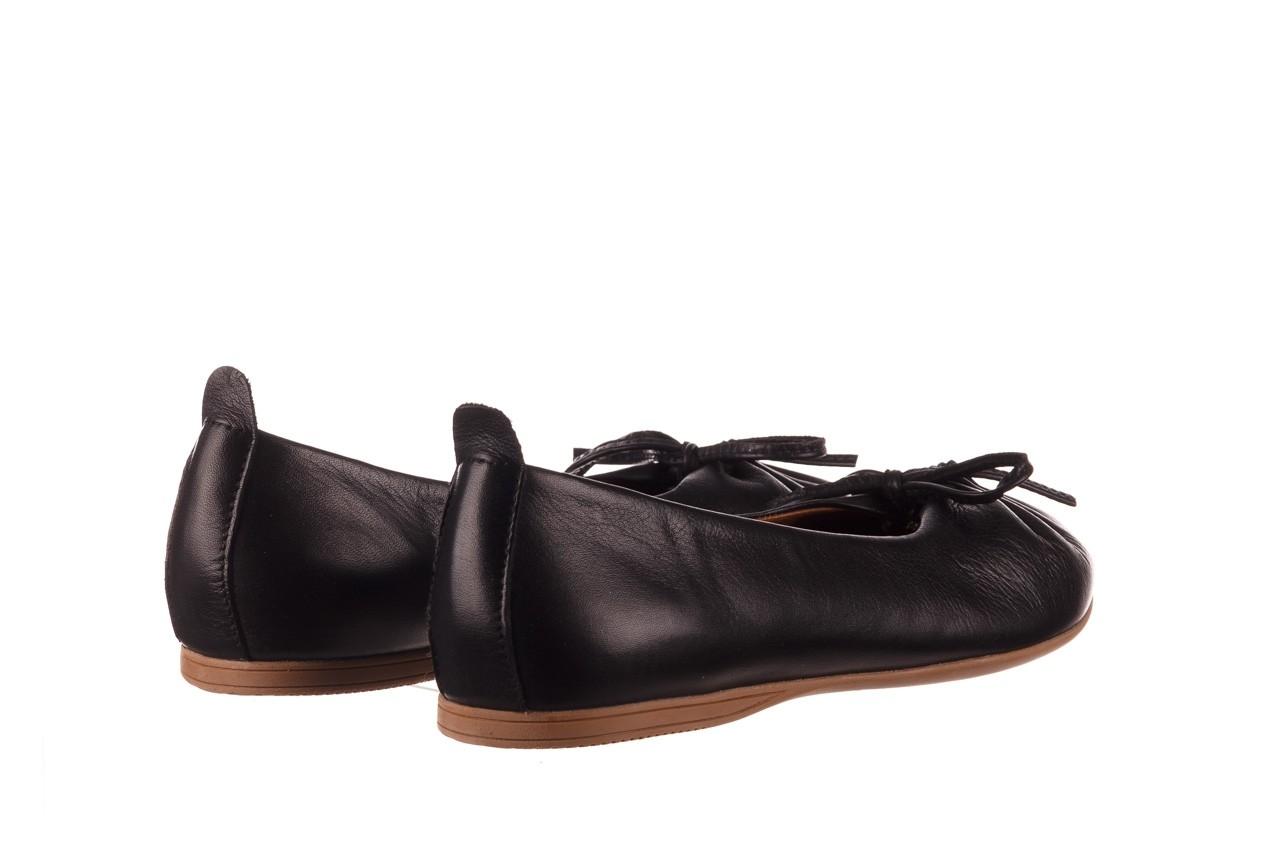 Baleriny bayla-190 757 336k-715 black, czarny, skóry naturalna  - baleriny - dla niej  - sale 11