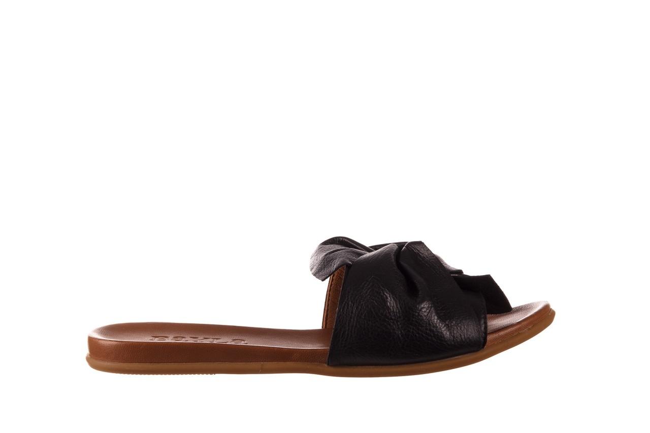 Klapki bayla-190 063 9n0802 black siyah, czarny, skóra naturalna  - klapki - dla niej  - sale 7