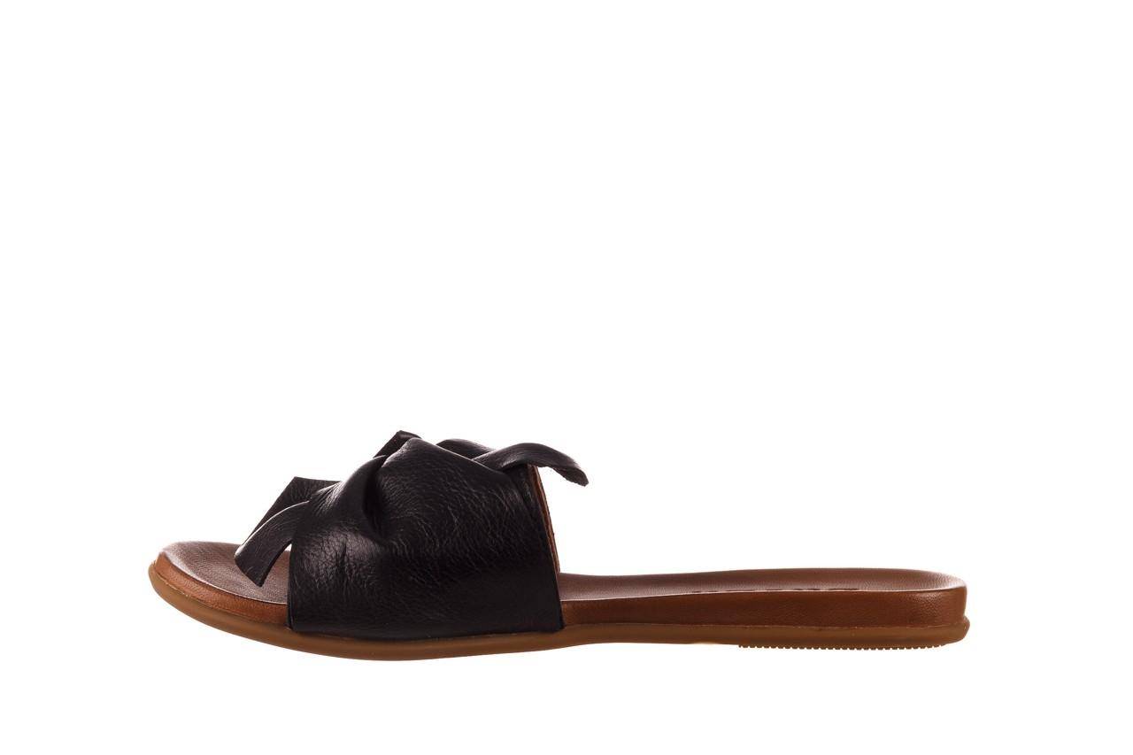 Klapki bayla-190 063 9n0802 black siyah, czarny, skóra naturalna  - klapki - dla niej  - sale 9