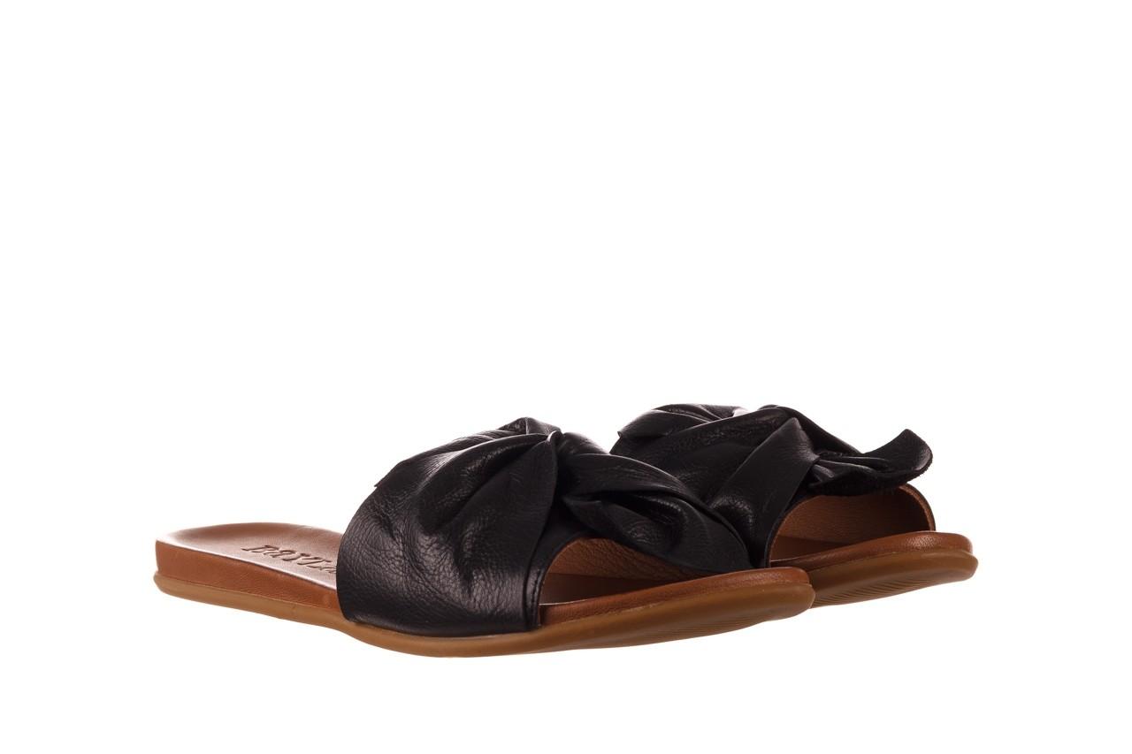 Klapki bayla-190 063 9n0802 black siyah, czarny, skóra naturalna  - klapki - buty damskie - kobieta 8