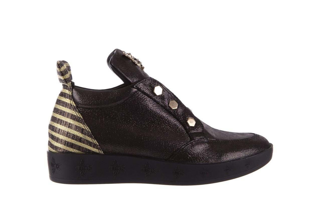 Trampki bayla-179 922 czarne trampki, skóra naturalna  - niskie - trampki - buty damskie - kobieta 8