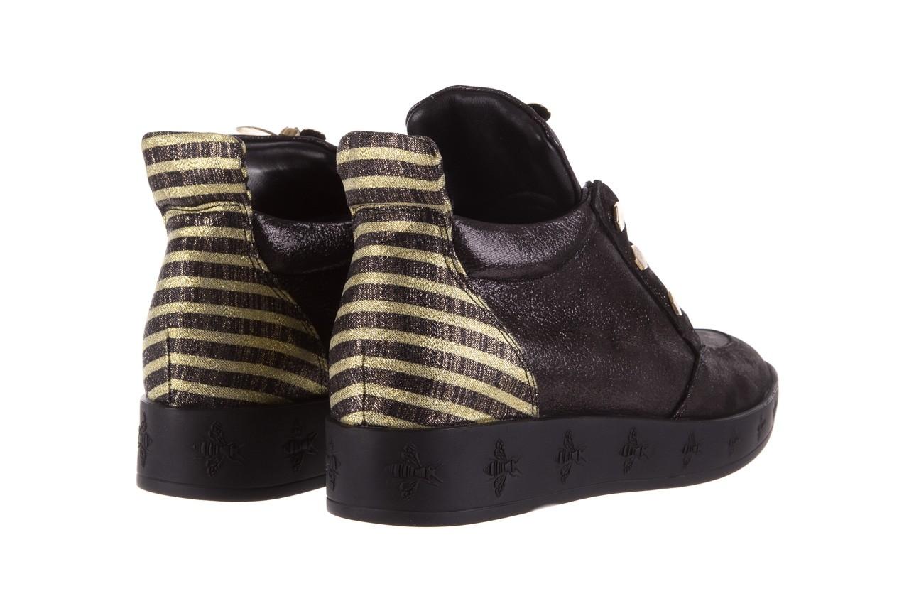 Trampki bayla-179 922 czarne trampki, skóra naturalna  - niskie - trampki - buty damskie - kobieta 11