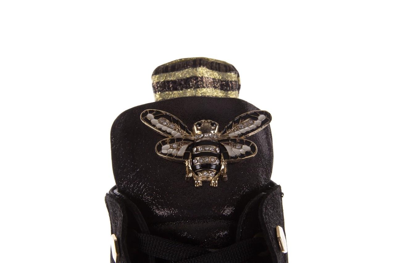 Trampki bayla-179 922 czarne trampki, skóra naturalna  - niskie - trampki - buty damskie - kobieta 13