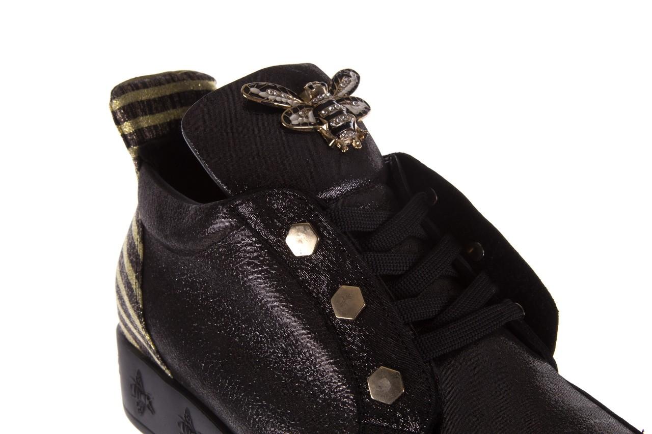 Trampki bayla-179 922 czarne trampki, skóra naturalna  - niskie - trampki - buty damskie - kobieta 14