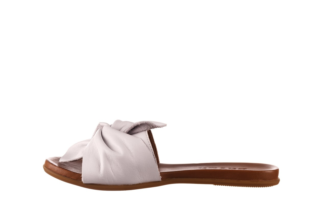 Klapki bayla-190 063 9n0802 white beyaz, biały, skóra naturalna  - klapki - buty damskie - kobieta 9