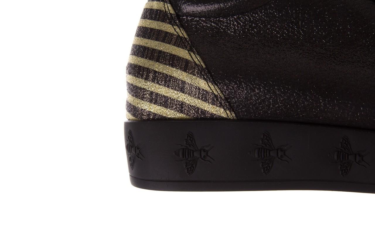 Trampki bayla-179 922 czarne trampki, skóra naturalna  - niskie - trampki - buty damskie - kobieta 15