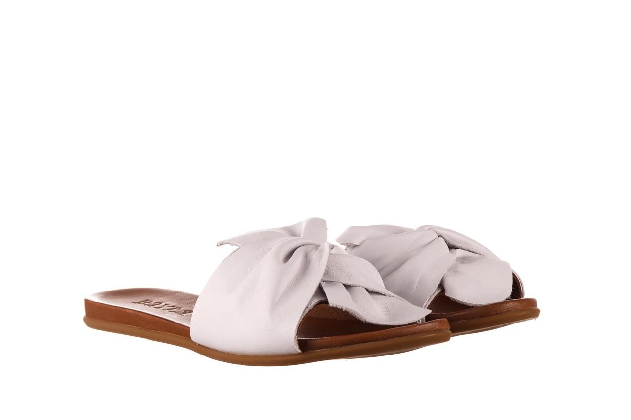 Klapki bayla-190 063 9n0802 white beyaz, biały, skóra naturalna  - klapki - buty damskie - kobieta 8