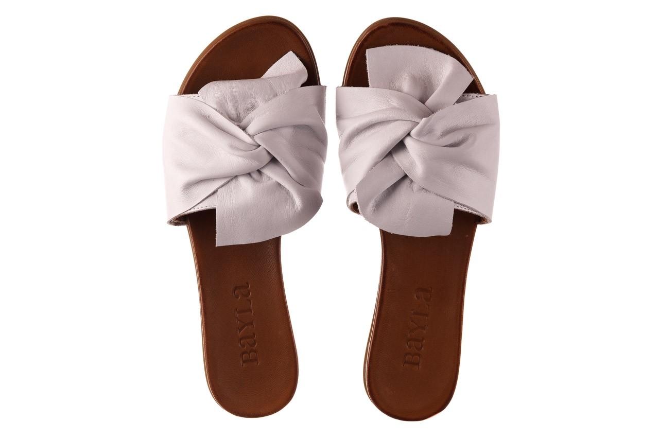 Klapki bayla-190 063 9n0802 white beyaz, biały, skóra naturalna  - klapki - buty damskie - kobieta 11