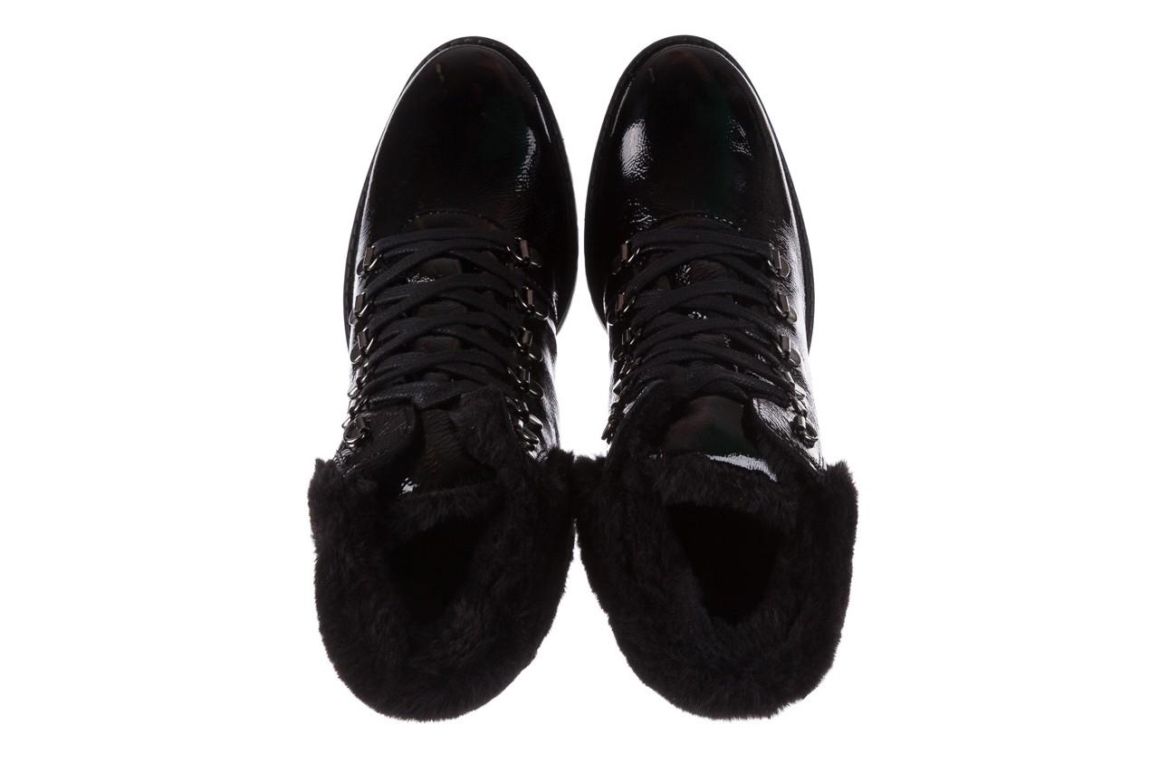 Trzewiki imac 205700 black czarny, skóra naturalna lakierowana - imac  - nasze marki 12