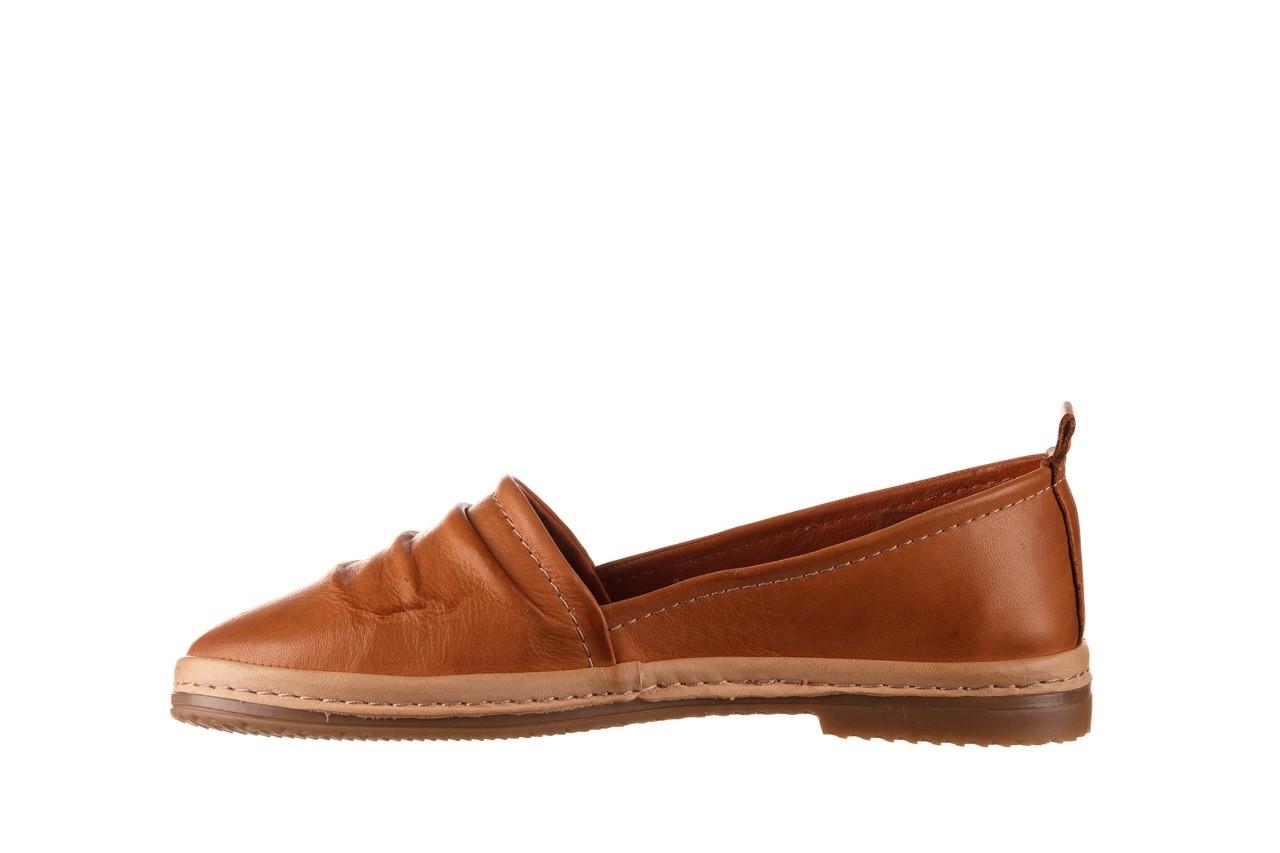 Półbuty bayla-190 515 772 taba-bej, brąz, skóra naturalna  - półbuty - buty damskie - kobieta 10