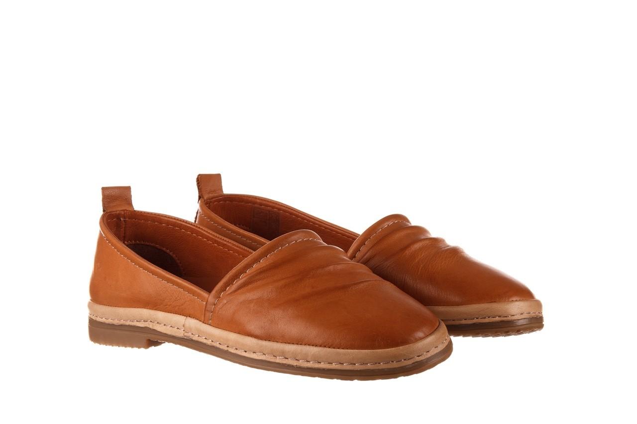 Półbuty bayla-190 515 772 taba-bej, brąz, skóra naturalna  - półbuty - buty damskie - kobieta 9