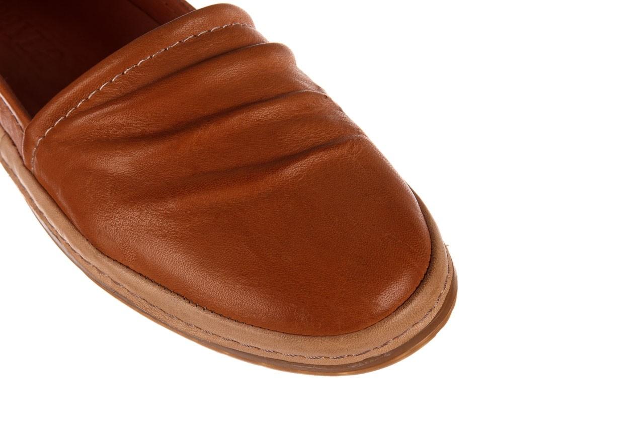 Półbuty bayla-190 515 772 taba-bej, brąz, skóra naturalna  - półbuty - buty damskie - kobieta 13