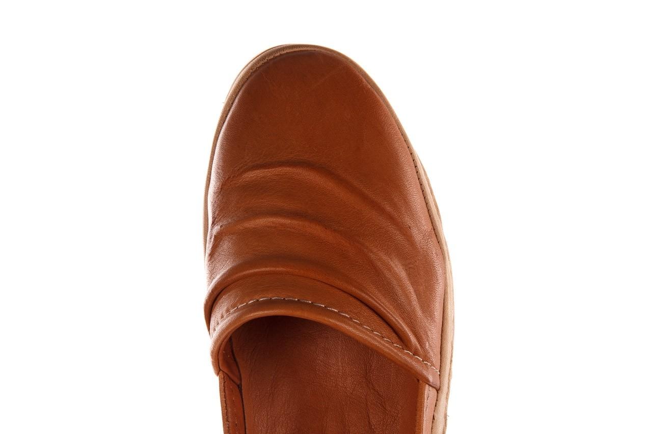 Półbuty bayla-190 515 772 taba-bej, brąz, skóra naturalna  - półbuty - buty damskie - kobieta 14