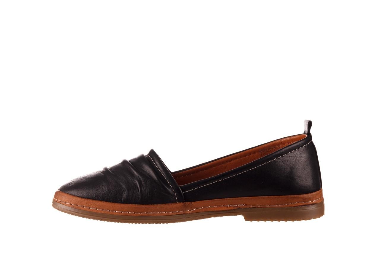 Półbuty bayla-190 515 772 siyah-taba, czarny, skóra naturalna  - skórzane - półbuty - buty damskie - kobieta 10