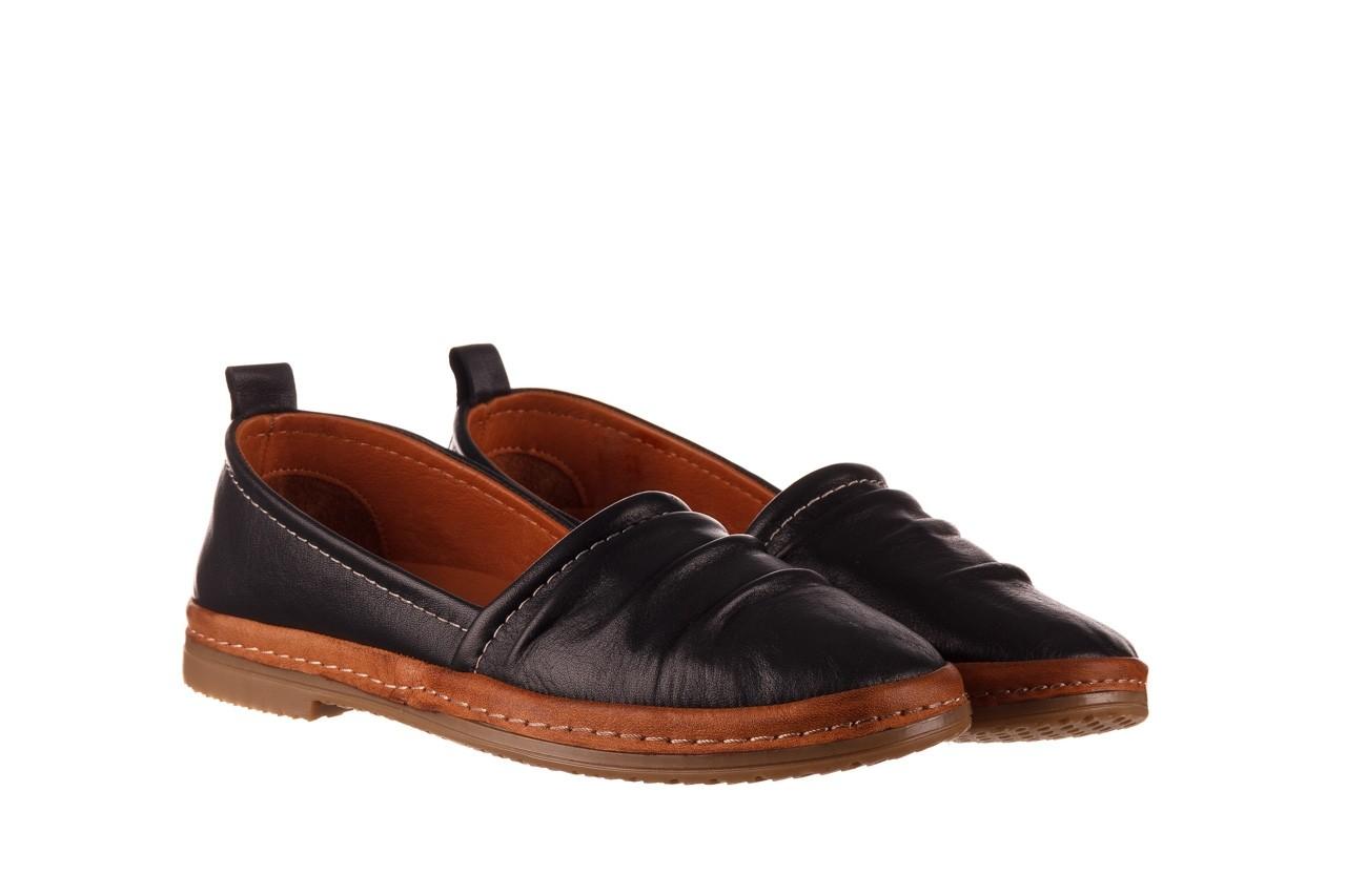 Półbuty bayla-190 515 772 siyah-taba, czarny, skóra naturalna  - skórzane - półbuty - buty damskie - kobieta 9