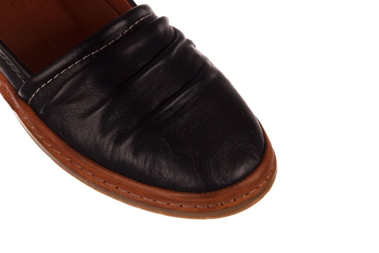 Półbuty bayla-190 515 772 siyah-taba, czarny, skóra naturalna  - skórzane - półbuty - buty damskie - kobieta 13