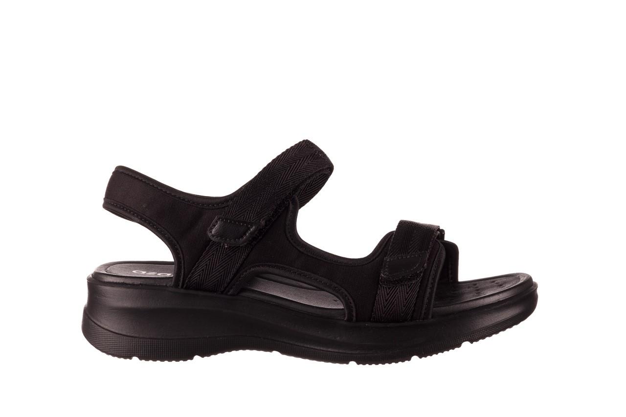 Sandały azaleia 330 560 black, czarny, materiał  - kobieta 8