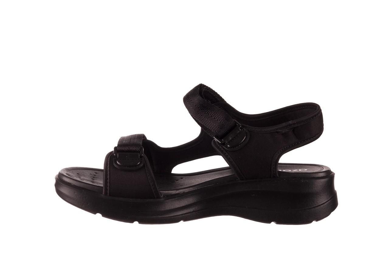 Sandały azaleia 330 560 black, czarny, materiał  - kobieta 10