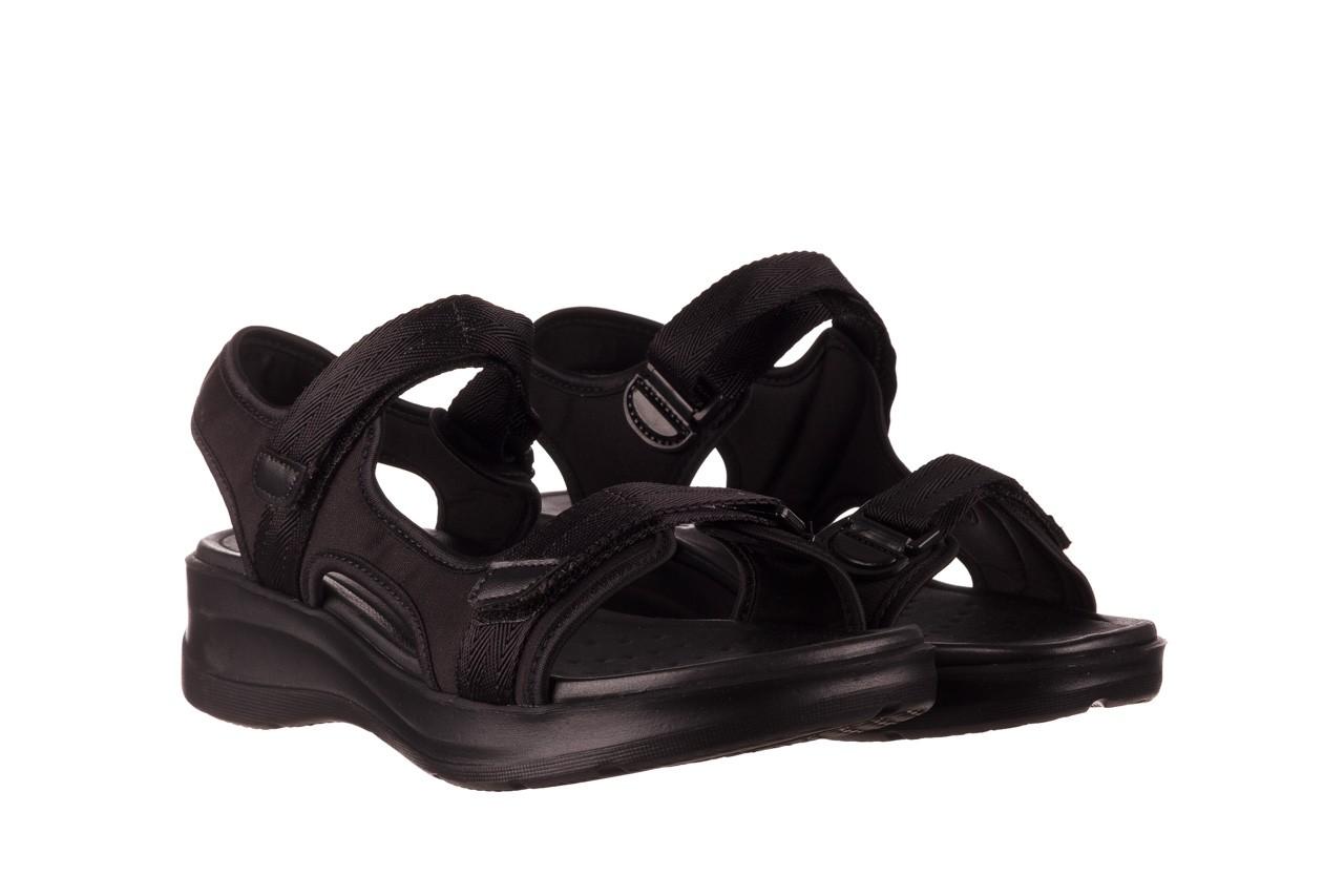 Sandały azaleia 330 560 black, czarny, materiał  - kobieta 9