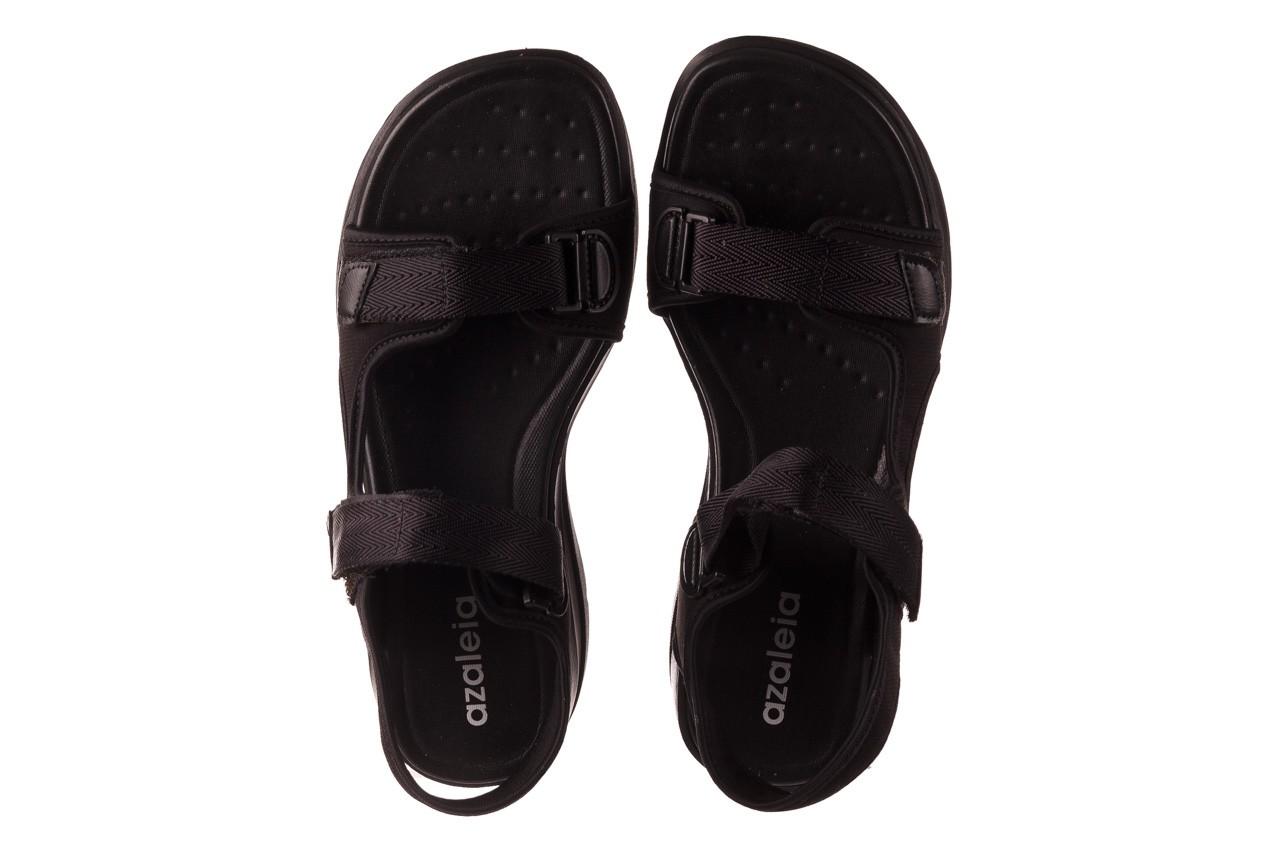 Sandały azaleia 330 560 black, czarny, materiał  - kobieta 12