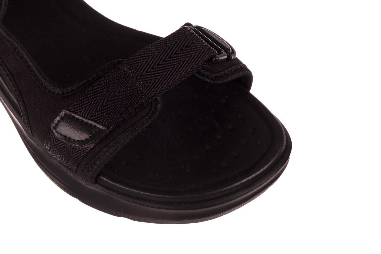 Sandały azaleia 330 560 black, czarny, materiał  - kobieta 13