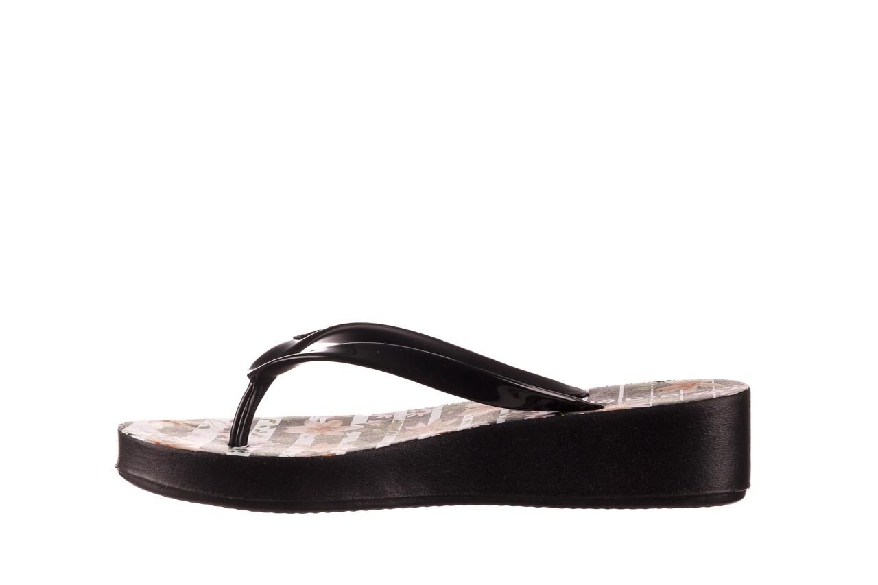 Klapki azaleia 239 464 black black, czarny, guma  - klapki - buty damskie - kobieta 11