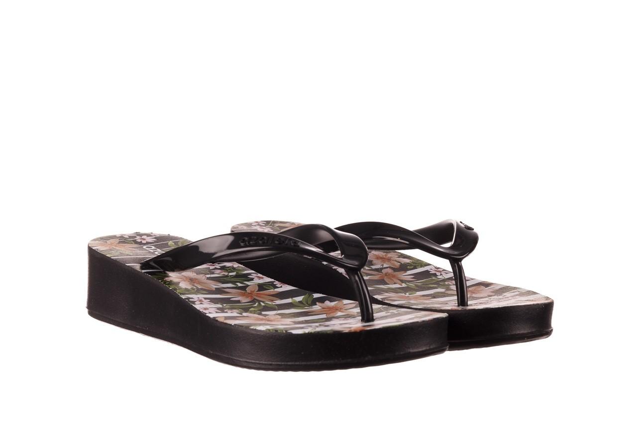 Klapki azaleia 239 464 black black, czarny, guma  - klapki - buty damskie - kobieta 10