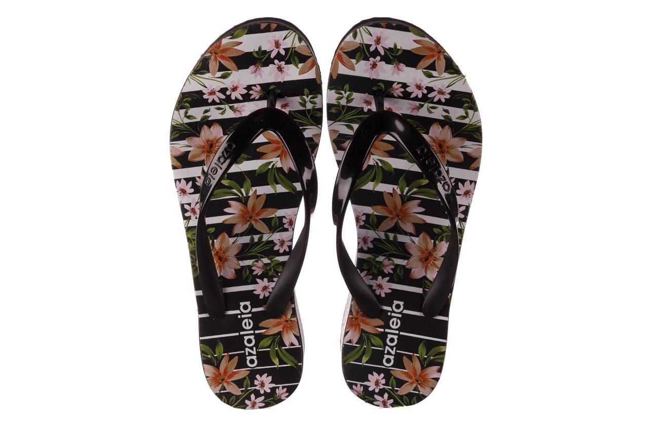 Klapki azaleia 239 464 black black, czarny, guma  - klapki - buty damskie - kobieta 13