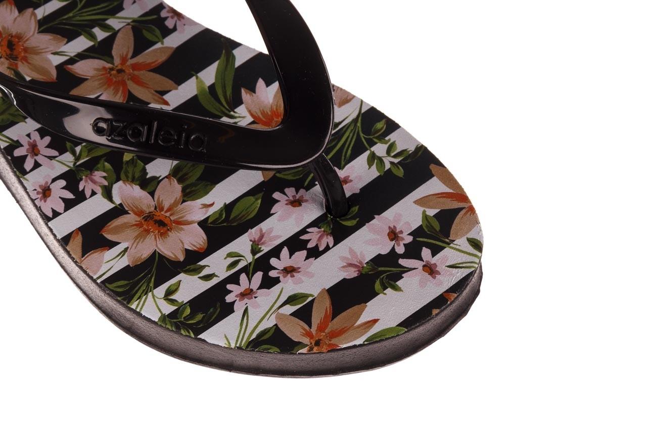 Klapki azaleia 239 464 black black, czarny, guma  - klapki - buty damskie - kobieta 14
