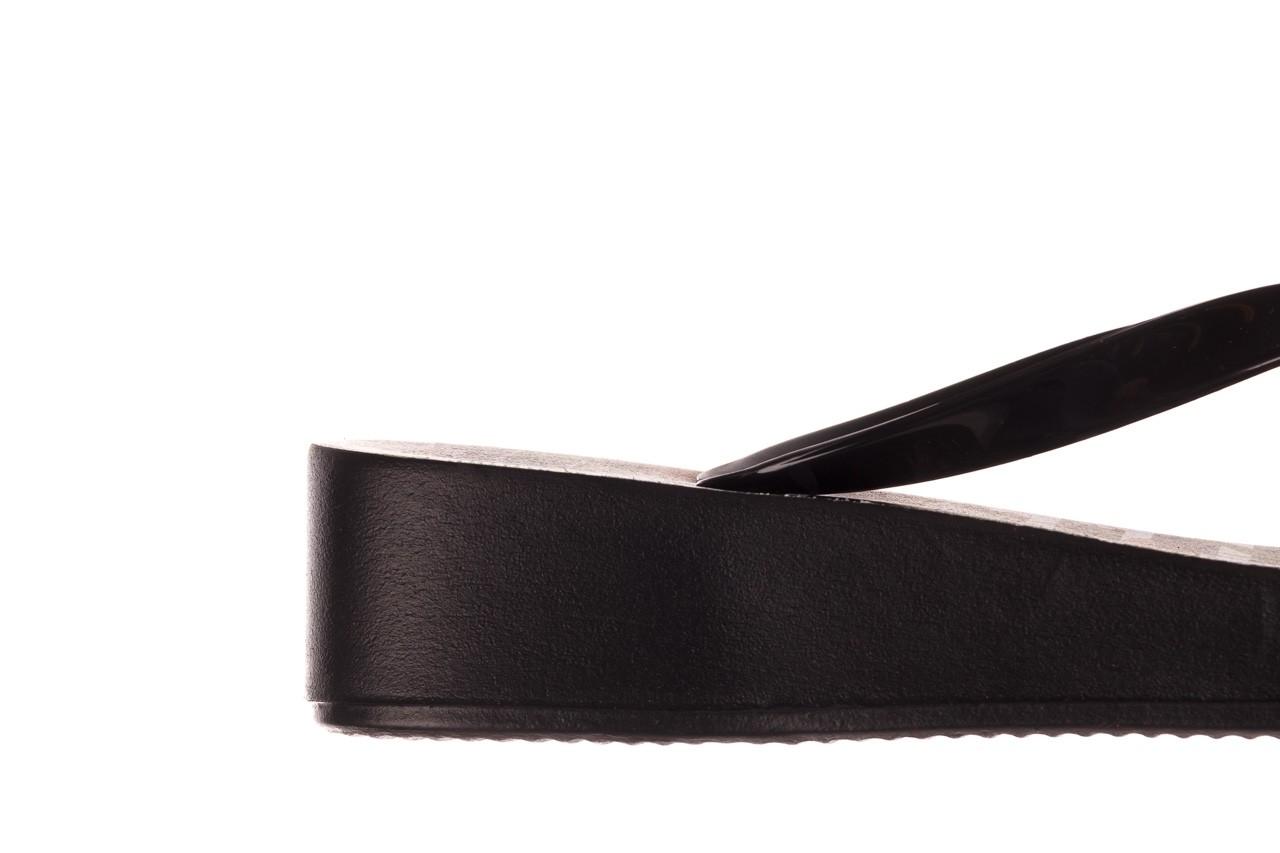 Klapki azaleia 239 464 black black, czarny, guma  - klapki - buty damskie - kobieta 17