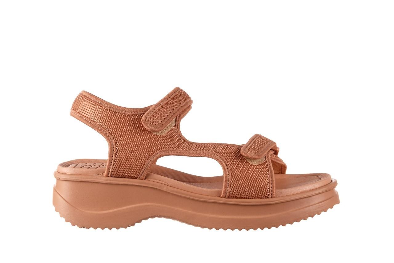 Sandały azaleia 320 323 nude 20, róż, materiał - płaskie - sandały - buty damskie - kobieta 9