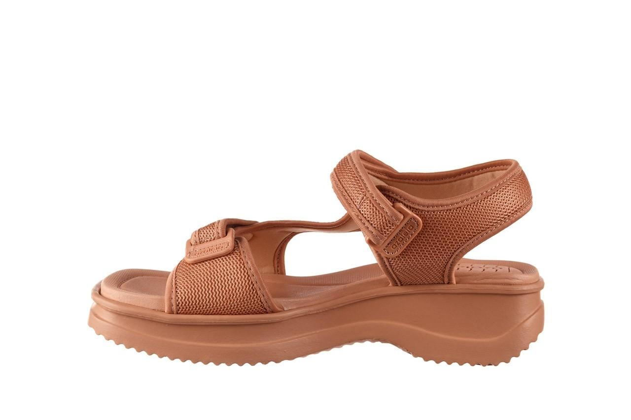 Sandały azaleia 320 323 nude 20, róż, materiał - płaskie - sandały - buty damskie - kobieta 11